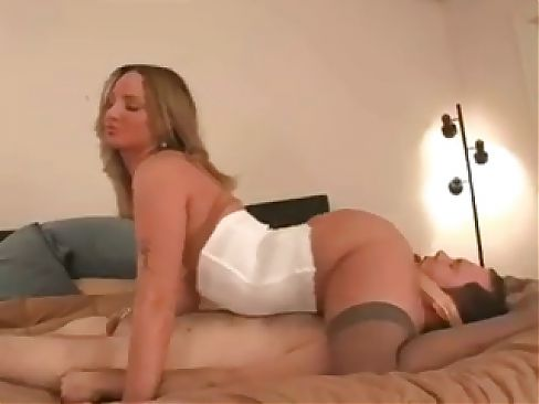 Male slave does whatever she tells him to do and eats her ass