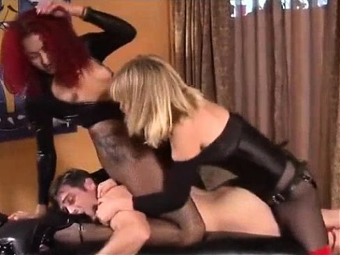 Busty Blonde Hottie Analed In A Threesome