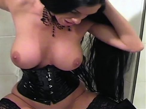 Wonderful maiden who likes to play with marital-device