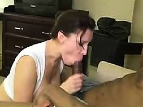 While a bbc banged hard her married man recording married w