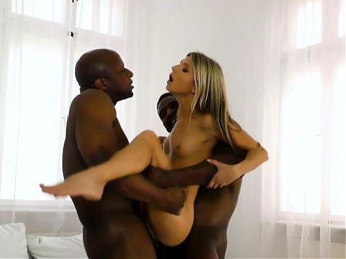 Anal Slut Gina Gerson Tries Interracial Sex And DP